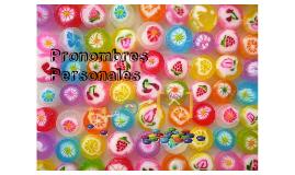 Pronombres Personales