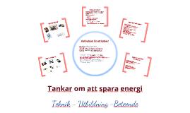 Omvärldsannalys - Energieffektivisering