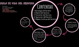 CICLO DE VIDA DEL SERVICIO