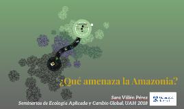 Minería en Áreas Protegidas de Amazonas