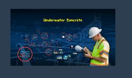 Underwater Concret