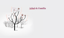 Copy of Arbol de Familia