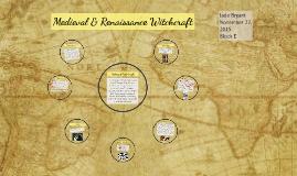 Medieval & Renaissance Witchcraft