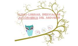 Copy of PLEXO LUMBAR. INERVACIÓN AUTÓNOMA DEL ABDOMEN