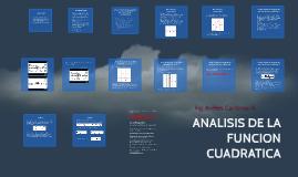 Copy of ANALISIS DE LA FUNCION CUADRATICA