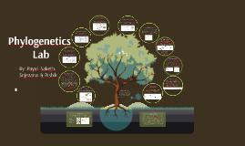 Copy of Phylogenetics Lab