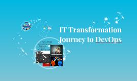 IT Transformation Journey to DevOps - VMUG Keynote