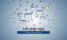 Les pop-ups