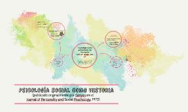 Psicología social como historia
