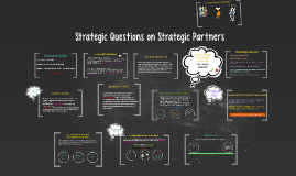 Strategic Questions on Strategic Partners