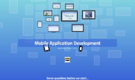 Seminar - Mobile Application Development