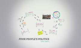 Poor People's Politics