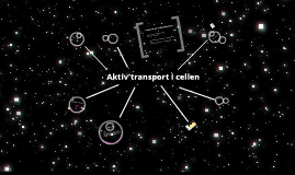 Biologi - celletransport