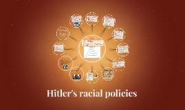 Hitler's racial policies