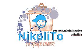 proceso administrativo NikoliTo