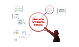 Copy of INVERSIÓN EXTRANJERA DIRECTA