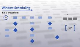 Window Scheduling