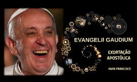 EXORTAÇÃO APOSTÓLICA EVANGELII GAUDIUM