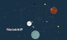 Rosetta Lands On 67P