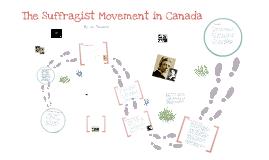 The Suffragist Movement in Canada