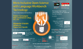 Short More Inclusive Open Science with Language Workbench Technology