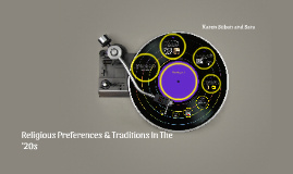Religious preferences & traditions in the '20s