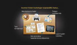 Suomen kielen kouluttajan työpöytä