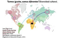 ''Somos iguales, somos diferentes''