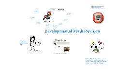 Developmental Math at HFCC