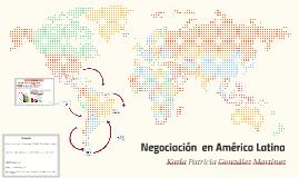 Negociacion en Latinoamerica