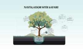 NAVEGADOR WEB SAFARI