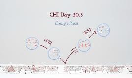 CHI Day 2013