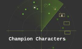 Champion Characters