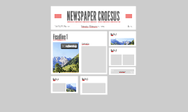 NEWSPAPER CROESUS