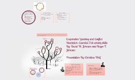 Cooperative Learning and Conflict Resolution