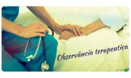 Observância terapeutica