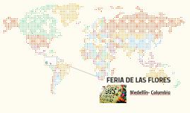 FERIA E LAS FLORES