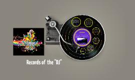 "History of ""DJ-ing"""