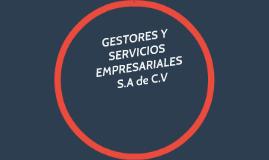 GESTORES Y SERVICIOS EMPRESARIALES S.A de C.V