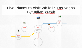 Five Places to Visit While in Las Vegas