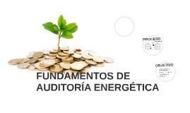 FUNDAMENTOS DE AUDITORÍA ENERGÉTICA