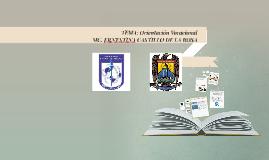 Conferencia Orientación vocacional