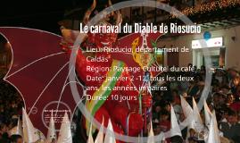 Le carnaval du Diable de Riosucio