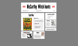 "the mccarthy witch hunts About 12,000 confirmed witch executions have been identified in documents, but the number of those killed could be many times that, lewis found in her timeline on the witch hunts of europe the vast majority of those executed were women ""in the real witch trials, it was about 75 percent charges of witchcraft made against women,"" said lewis."