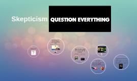 Intro lesson Skepticism