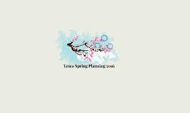 Tesco Spring Planning 2016