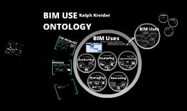 Copy of Copy of BIM USE Ontology