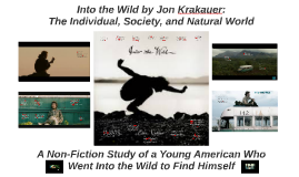 Copy of Into the Wild: The Individual, Society, and The Natural World