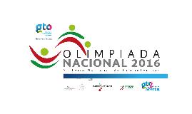 Sede de la Olimpiada Nacional 2016