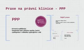 Praxe na právní klinice - PPP